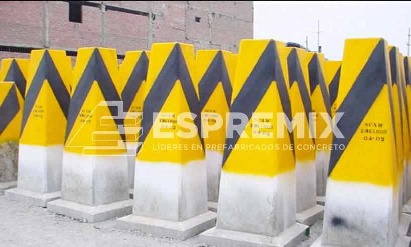 Contra impacto Prefabricado Concreto Lima