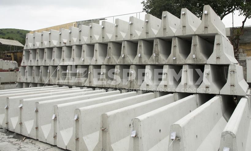 Muro New Jersey Prefabricado Espremix Lima Peru 2