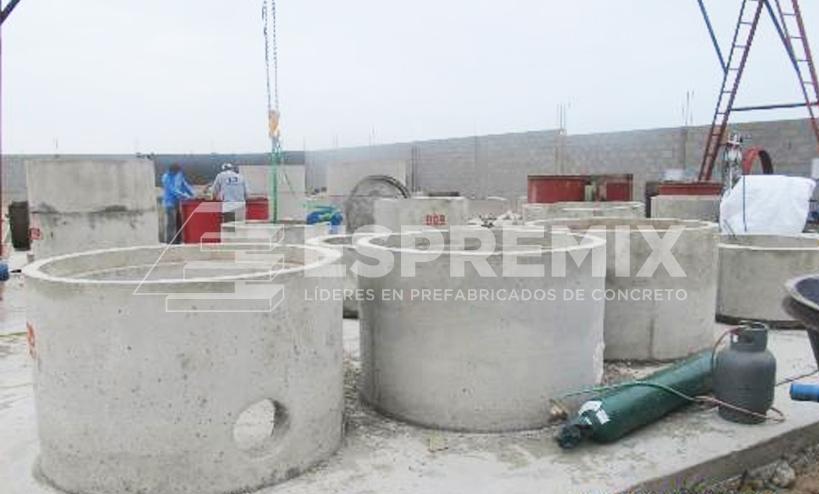 Buzones saneamiento y desagüe Prefabricado de Concreto Peru