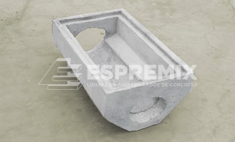 Caja Desague Prefabricado Concreto Perú