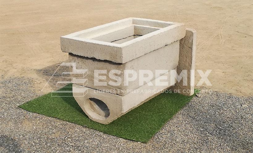 Caja Pozo Tierra Prefabricado Concreto